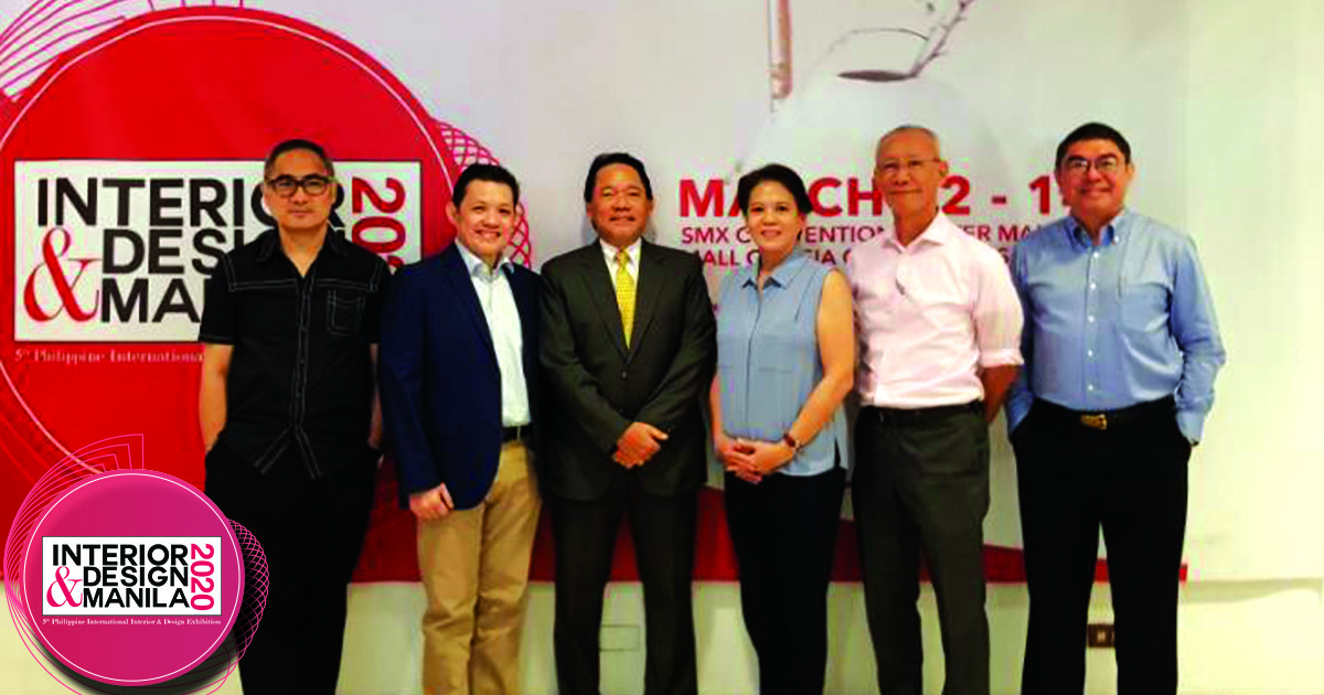 Interior & Design Manila 2020  welcomes the Philippine Institute of Architects